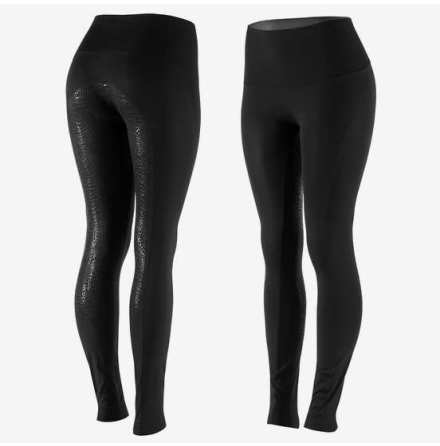 Horze Bianca Womens Grip FS Tights Svart