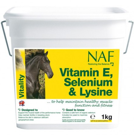 NAF Vitamin E & Selen & Lysin Plus