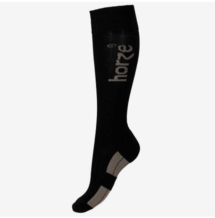 Horze Jasper Woolmix Winter Socks Svart/Beige