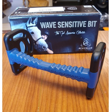 Acavallo Wave Sensitive Bit Svart 125 mm