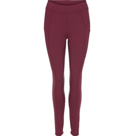 Equipage Dalena F/G Thights Deep Berry