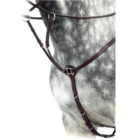 Källquist Förbygel Med Martingal Brun Pony