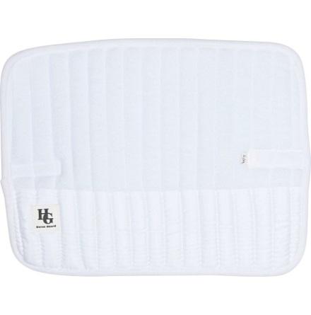 HG Bandage Underlägg Cayden Memory Foam Vit