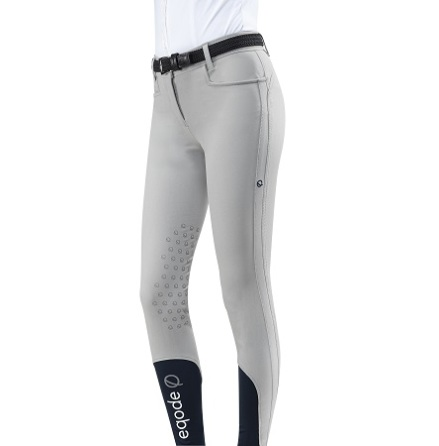 Eqode By Equiline Womens Knee Grip Breeches Grå