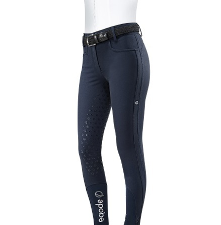Eqode By Equiline Womens F/G  Breeches Hög Midja Blå