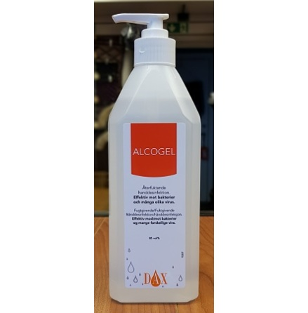 Vet Provide Dax Alcogel 85% 600ml