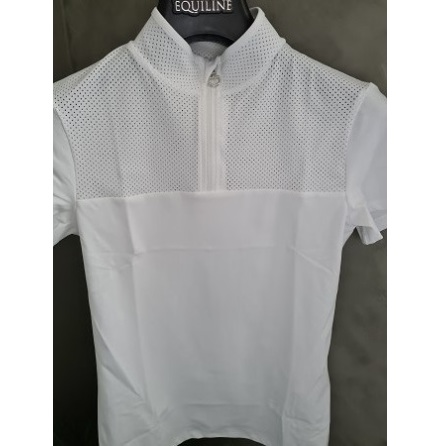 Ct Perforated Outline And Collar S/S Jersey  Competition J:r Vit