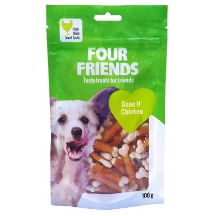 Four Friends Bone N Chicken 100g