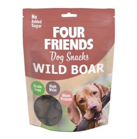 Four Friends Dog Snacks Wild Boar 200g