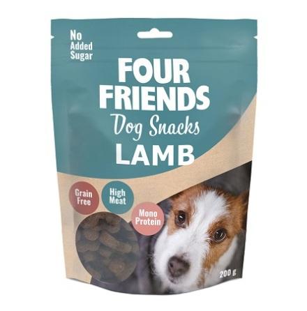 Four Friends Dog Snacks Lamb