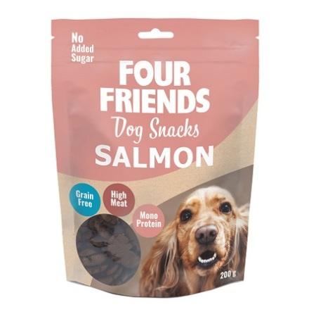 Four Friends Dog Snacks Salmon 200g