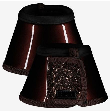 Horze Bell Boots Med Gltter