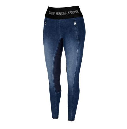 Pikeur Gwen Grip Jeans Athleisure Blå