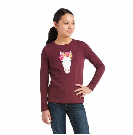 Ariat Flower Crown LS T-Shirt
